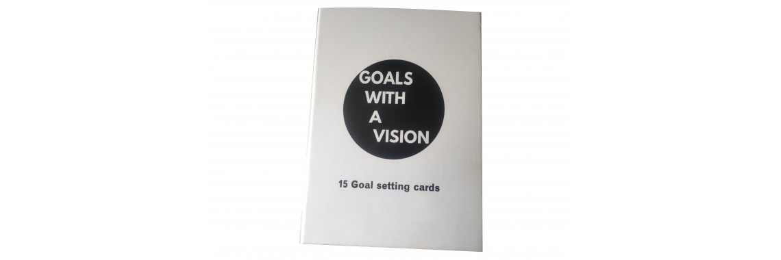 Goals with a vision card
