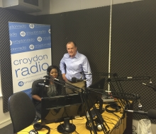 Radio interview with Kate Megase and Larry Watson on Croydon radio - September 2016