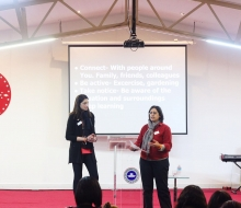Speakers from Depression Alliance in Croydon Speaking about depression - February 2016