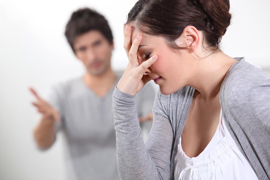 Couple having an argument